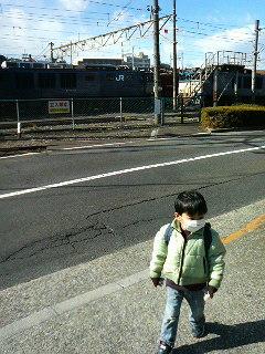 電車車両基地